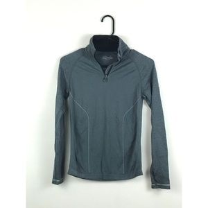 Mizuno Women's Grey Athletic Top - Size Small